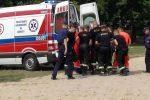 """Akcja ratunkowa SGRWN """"Legnica-1"""" w Jezierzanach"""
