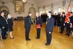 Uroczyste zdanie i przyjęcie obowiązków Komendanta Miejskiego  Państwowej Straży Pożarnej w Legnicy