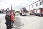 Uroczyste przekazanie nowego samochodu ratowniczo-gaśniczego w Rzeszotarach